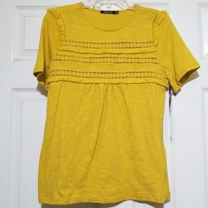 NWT Yellow Top